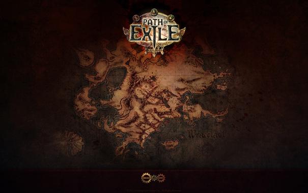 Фото обои игра, карта, game, онлайн, MMO, ммо, path of exile