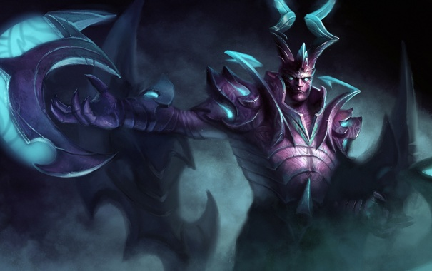 Фото обои демон, dota 2, terrorblade, Demon Marauder