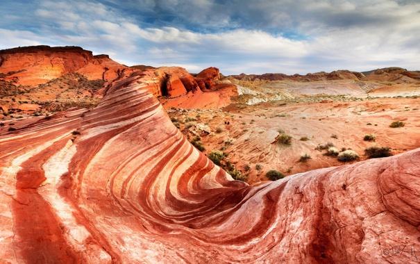 Фото обои природа, пейзаж, горы