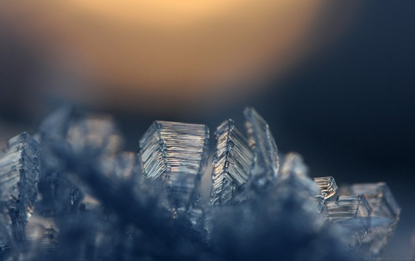 Фото обои лёд, кристалы, минерал, Icy