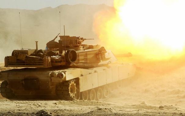 Фото обои оружие, танк, M1A1 Abrams