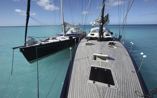 Фото обои море, спорт, яхта, парусная