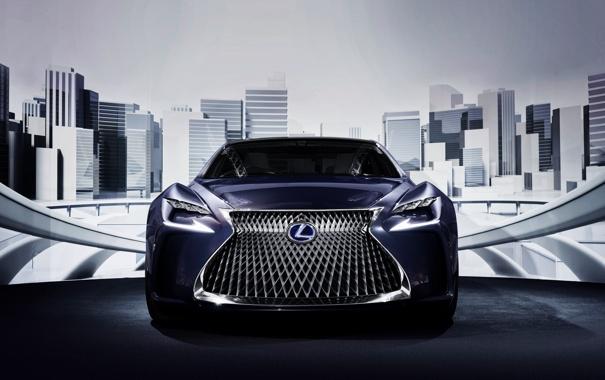Фото обои концепт, LF-FC, Concept, лексус, Lexus