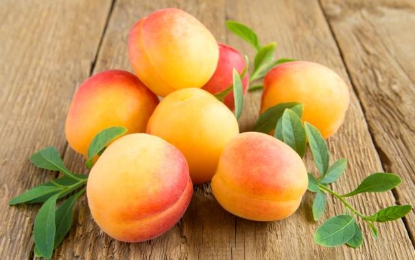 Фото обои фрукты, абрикосы, apricot