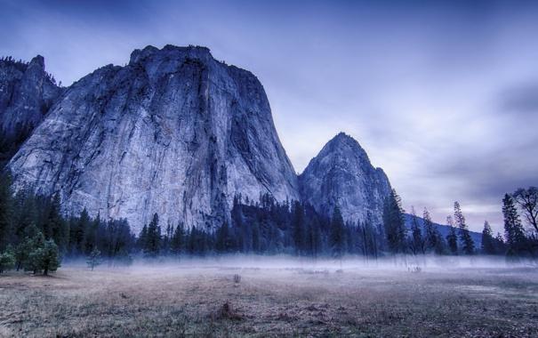 Фото обои пейзаж, горы, природа