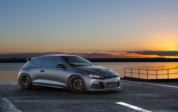 Фото обои tuning, фольксваген, hot hatch, Volkswagen Scirocco R