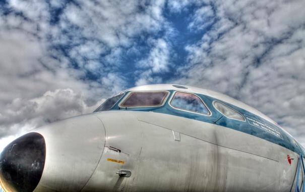 Фото обои авиация, фон, самолёт