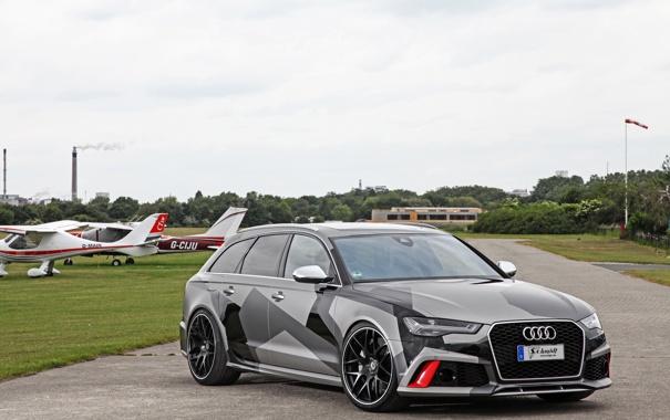 Фото обои Audi, ауди, Avant, 2015, RS 6, Schmidt Revolution