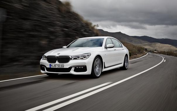 Фото обои бмв, BMW, Sport, 750Li, xDrive, 2015, G12