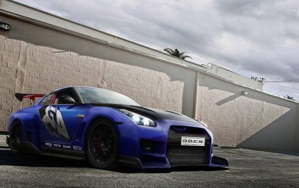 Фото обои GTR, Nissan, DOCG