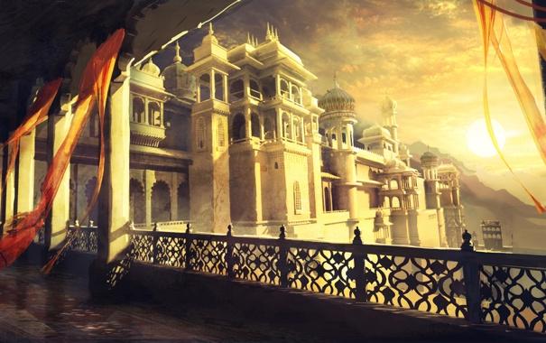 Фото обои Prince of Persia, дворец, Prince of Persia: The Forgotten Sands, Принц Персии: Забытые Пески, Персия