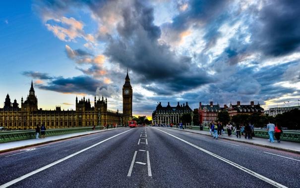 Фото обои Англия, Лондон, Big Ben