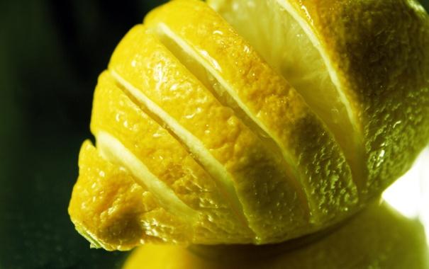 Фото обои lemon, citrus, фрукт, 1920x1080, цитрус, macro, лимон