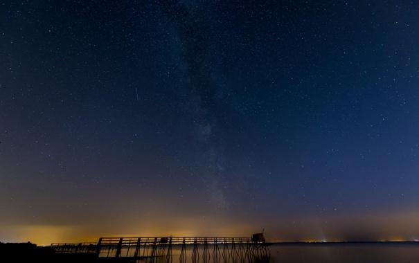 Фото обои космос, звезды, пространство, млечный путь