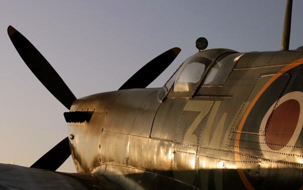 Фото обои оружие, самолёт, Supermarine Spitfire
