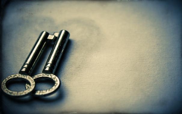 Фото обои макро, стиль, ключи