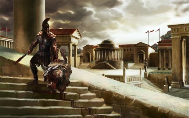 Фото обои RomeRising, and, Gods, Heroes