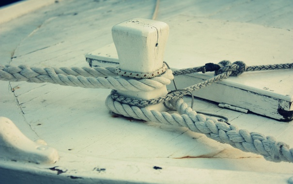 Фото обои макро, пристань, столб, веревка, порт, пирс, узел