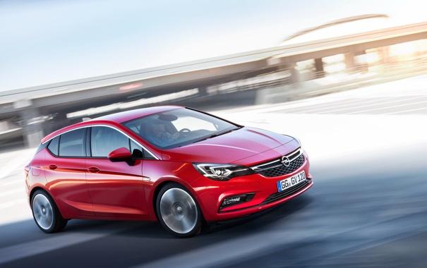 Фото обои Opel, астра, опель, Astra, 2015