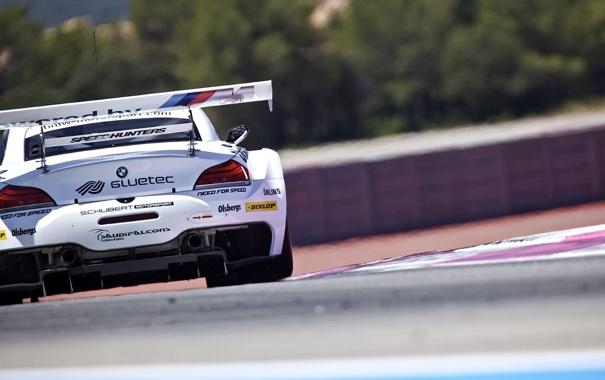 Фото обои Bmw, Paul Ricard, FIA GT3 2011, Team Need for Speed, Z4 GT3, FIA GT3