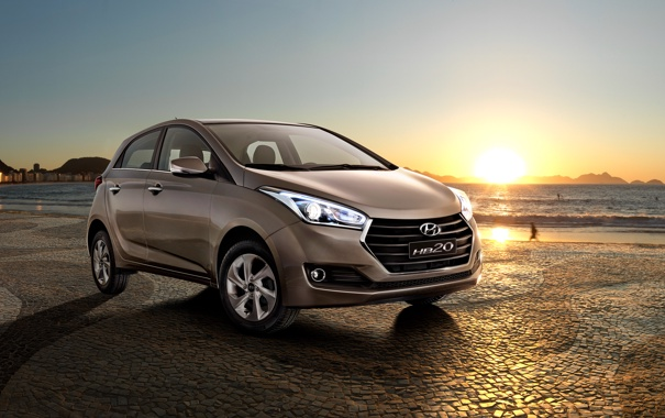 Фото обои Hyundai, Brasil, Hatchback, хундай