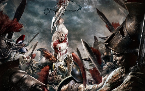 Фото обои Игры, game, God of War