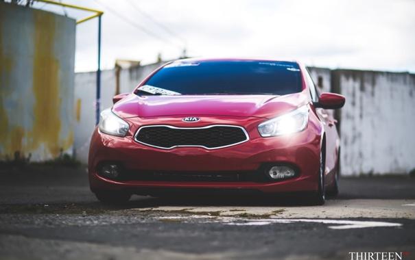 Фото обои машина, авто, фотограф, KIA, auto, photography, photographer