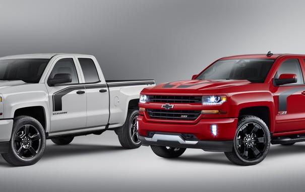 Фото обои Chevrolet, шевроле, Silverado, сильверадо