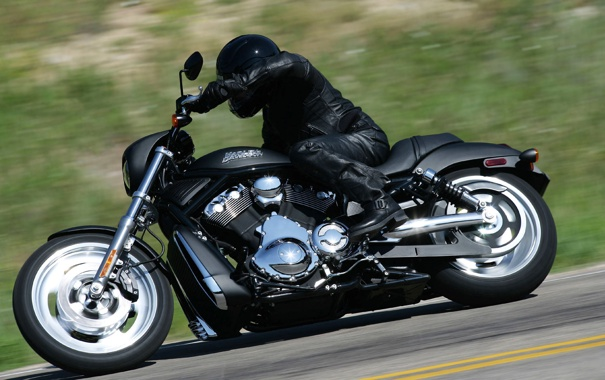 Фото обои матовый, харлей, чоппер, Harley Davidson