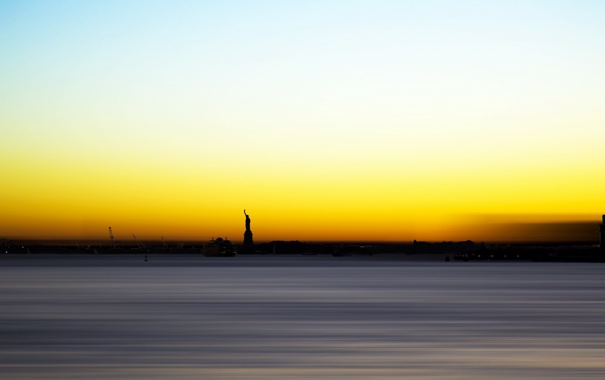 Фото обои new-york, Statue, Liberty