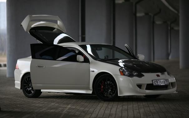 Фото обои Integra, Type-R, Honda