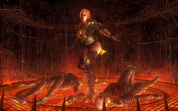 Фото обои scorpion, crossover, frozen, mortal kombat, anna, Frozen Kombat, Scorpanna