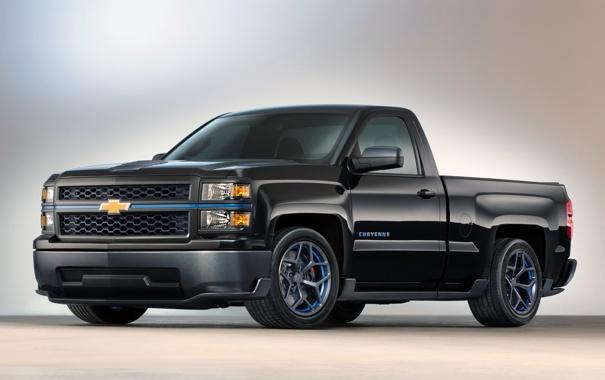 Фото обои Concept, Chevrolet, шевроле, 2013, Silverado, сильверадо, GMTK2
