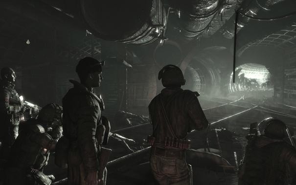 Фото обои метро, оборона, постапокалипсис, 2033, metro