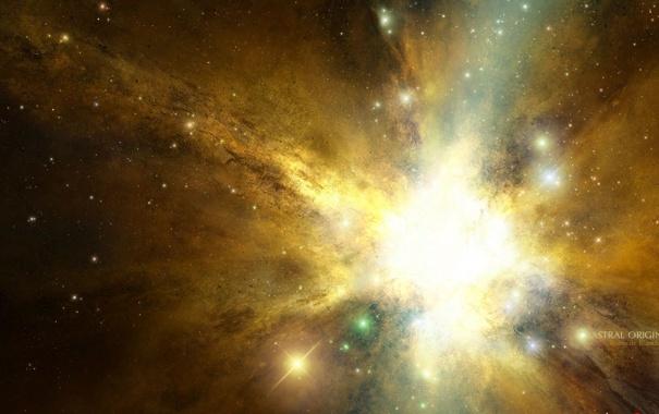 Звезды туманность космос обои фото