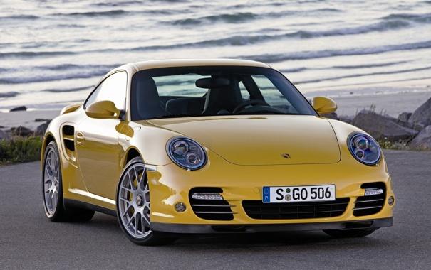 Фото обои горы, машины, пейзажи, порш, porsche, авто обои, 911 sport