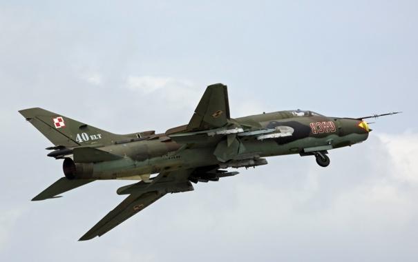 Фото обои оружие, Polish Air Force, Sukhoi Su-22M4