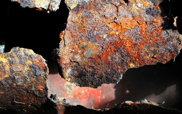 Фото обои металл, фон, ржавчина