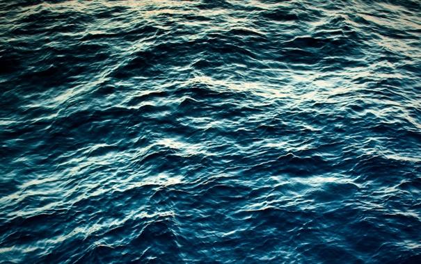 Фото обои море, волны, вода, синий, фото, океан, волна