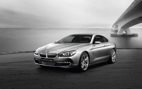 Фото обои concept, BMW, coupe, 6-series