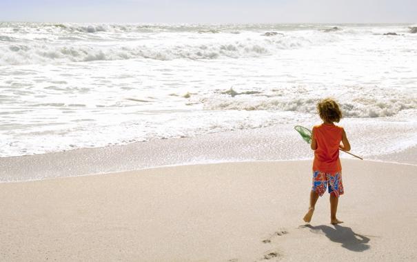 Фото обои песок, пляж, настроения, ребенок, мальчик, семья