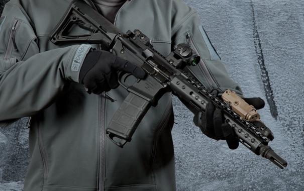 Фото обои оружие, солдат