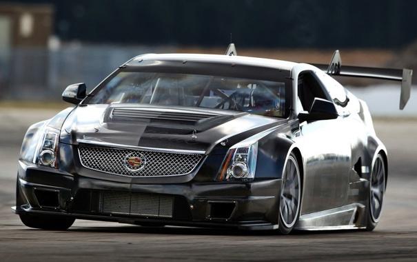 Фото обои тачка, красивая, Cadillac-CTS-V Coupe 2011