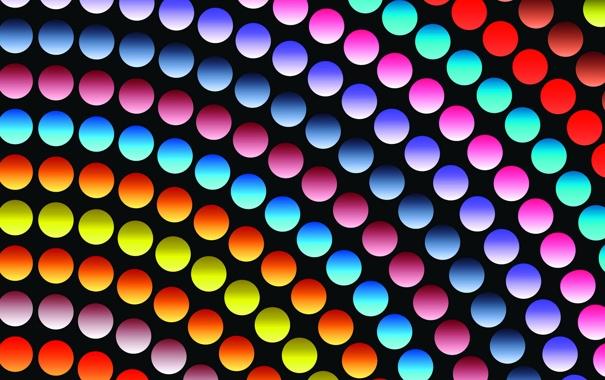 Фото обои цвет, круг, радуга, текстура
