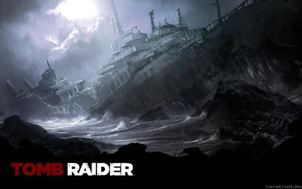 Фото обои Лара Крофт, Расхитительница гробниц, Tomb Raider 9, Lara Croft Reborn