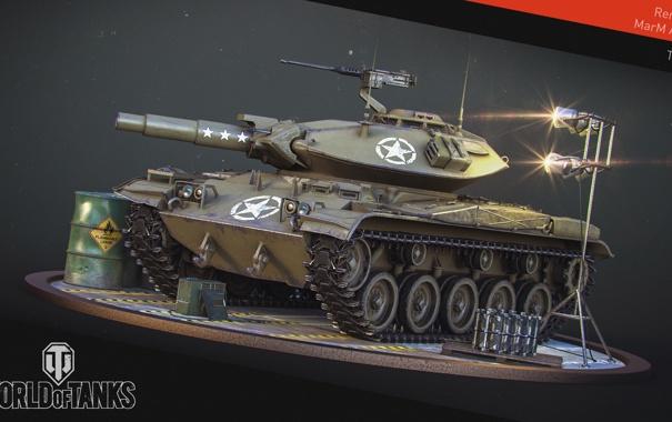 Фото обои танк, USA, США, Америка, танки, WoT, Мир танков
