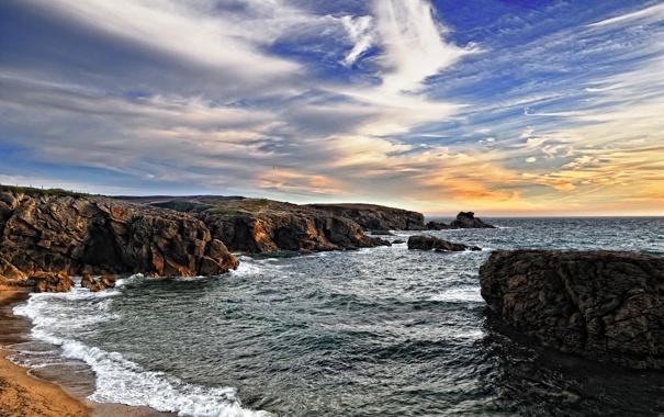 Фото обои море, вода, камни, фото, океан, скалы, пейзажи