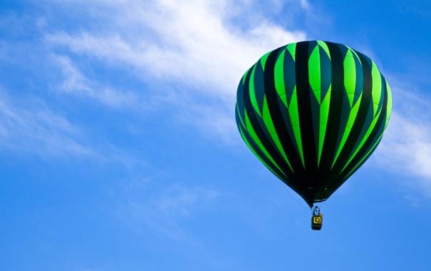Фото обои шар, воздушный, balloon stripes