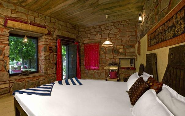 Фото обои дизайн, спальня, домик волонтера, интерьер, комната, стиль