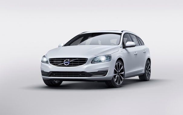 Фото обои Volvo, вольво, V60, 2015, Twin Engine